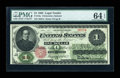 Large Size:Legal Tender Notes, Fr. 16a $1 1862 Legal Tender PMG Choice Uncirculated 64 EPQ....