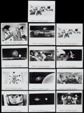 """Movie Posters:Science Fiction, 2001: A Space Odyssey (MGM, R-1974). Stills (13) (8"""" X 10"""").Science Fiction.... (Total: 13 Items)"""