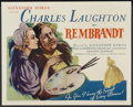 "Movie Posters:Romance, Rembrandt (United Artists, 1936). Half Sheet (22"" X 28""). Romance...."