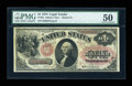 Large Size:Legal Tender Notes, Fr. 25 $1 1875 Legal Tender PMG About Uncirculated 50....