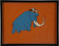 animation art:Production Drawing, Caveman Animation Production Cel Original Art (undated)....
