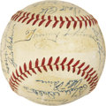 Autographs:Baseballs, 1951 Boston Braves Team Signed Baseball. ...