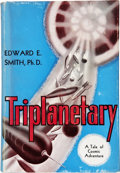 Books:First Editions, Edward E. Smith. Triplanetary, A Tale of Cosmic Adventure.Reading: Fantasy Press, 1948....
