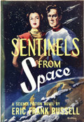 Books:First Editions, Eric Frank Russell. Sentinels From Space. New York: Bouregy& Curl, [1953]....