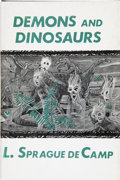 Books:First Editions, L. Sprague de Camp. Demons and Dinosaurs. Sauk City: ArkhamHouse, 1970....