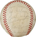 Autographs:Baseballs, 1971 Baltimore Orioles Team Signed Baseball. In 1971, the BaltimoreOrioles fought their way to an impressive 101-57 record...