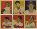 Baseball Cards:Lots, 1949 Bowman Baseball Group Lot of 17. Nice vintage Bowman baseballgroup from the 1949 issue. Includes the following: #42, ...