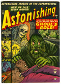 Golden Age (1938-1955):Horror, Astonishing #13 (Atlas, 1952) Condition: VF-....