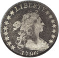 Early Dimes: , 1796 10C VG10 PCGS. JR-4, R.4. The TY in LIBERTY touch at the peakof the letters, and the first star is distant from the b...