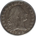 Early Half Dimes: , 1795 H10C XF45 PCGS. V-5, LM-8, R.3. The recorded mintage of 86,416half dimes included both 1794- and 1795-dated pieces, b...