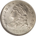Bust Dimes: , 1814 10C Large Date MS65 NGC. JR-3, R.2. The curl extends to theright edge of the second 1 in the date, and there is the ...