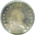 Early Half Dollars: , 1794 50C --Acid Treated, Obverse Scratched--NCS. VF Details. O-101,High R.3. The obverse exergue is granular and nearly fea...