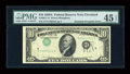 Error Notes:Inverted Third Printings, Fr. 2011-D $10 1950A Federal Reserve Note. PMG Choice ExtremelyFine 45 EPQ.. ...