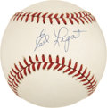 Autographs:Baseballs, Ed Lopat Single Signed Baseball....