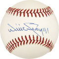 Autographs:Baseballs, Willie Stargell Single Signed Baseball. ...