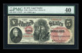 Large Size:Legal Tender Notes, Fr. 66 $5 1875 Legal Tender PMG Extremely Fine 40....