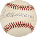 Autographs:Baseballs, Ted Williams Single Signed UDA Baseball....