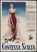 "Movie Posters:Drama, The Barefoot Contessa (Dear Film, R-1958). Italian 2 - Folio (39"" X55""). Drama...."