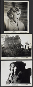 """Movie Posters:Hitchcock, Psycho (Paramount, R-1965). Stills (3) (8"""" X 10""""). Hitchcock....(Total: 3 Items)"""