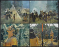 """Movie Posters:Western, A Man Called Horse (National General, 1970). Jumbo Lobby Card Set of 8 (16"""" X 20""""). Western.... (Total: 8 Items)"""