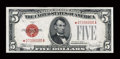 Small Size:Legal Tender Notes, Fr. 1530* $5 1928E Legal Tender Note. Choice About Uncirculated.. ...