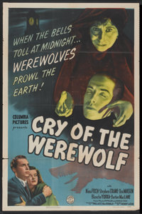 """Cry of the Werewolf (Columbia, 1944). One Sheet (27"""" X 41""""). Horror"""