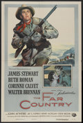 """Movie Posters:Western, The Far Country (Universal International, 1955). One Sheet (27"""" X 41""""). Western...."""