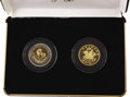 China:People's Republic of China, China: People's Republic two-piece Unicorn set 1994 including:... (Total: 2 coins)