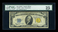 Small Size:World War II Emergency Notes, Fr. 2309* $10 1934A North Africa Silver Certificate. PMG Very Fine 25.. ...