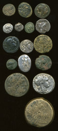 Ancients:Ancient Lots  , Ancients: Lot of sixteen miscellaneous ancient AR and AE....(Total: 16 coins)