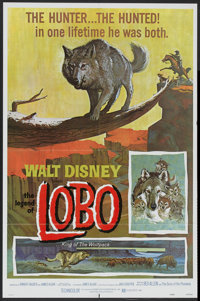 "The Legend of Lobo (Buena Vista, R-1972). One Sheet (27"" X 41""). Adventure"