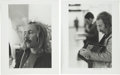 Music Memorabilia:Photos, David Crosby Photos by Graham Nash.... (Total: 2 Items)