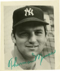 Autographs:Photos, Thurman Munson Signed Photograph.... (Total: 1 cards)