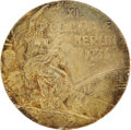 Miscellaneous Collectibles:General, 1936 Berlin Olympics Gold Medal Presented to Marshall Wayne....