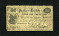 Miscellaneous:Other, Boston, MA- Parker House 25¢ July 14, 1862. ...