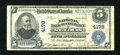 National Bank Notes:Missouri, Saint Louis, MO - $5 1902 Plain Back Fr. 601 The NB of Commerce Ch.# 4178. ...