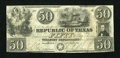 Miscellaneous:Republic of Texas Notes, Austin, TX- Republic of Texas $50 Jan. 25, 1840 Cr. A7 Medlar 27....