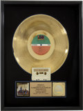 Music Memorabilia:Awards, Crosby, Stills & Nash RIAA Gold Album Award....