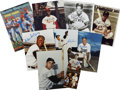 Autographs:Photos, Baseball Stars and Hall of Famers Signed Photographs Lot of 15....(Total: 15 items)
