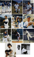 Autographs:Photos, New York Yankee Stars Signed Photographs Lot of 11.... (Total: 11items)