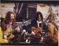 Music Memorabilia:Photos, Crosby, Stills & Young Photo by Henry Diltz...