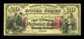 National Bank Notes:Louisiana, New Orleans, LA - $20 1875 Fr. 431 The New Orleans NB Ch. # 1778. ...