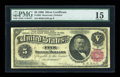 Large Size:Silver Certificates, Fr. 265 $5 1886 Silver Certificate PMG Choice Fine 15....