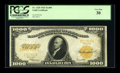 Large Size:Gold Certificates, Fr. 1220 $1000 1922 Gold Certificate PCGS Very Fine 30....