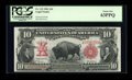 Large Size:Legal Tender Notes, Fr. 115 $10 1901 Legal Tender PCGS Choice New 63PPQ....