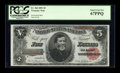 Large Size:Treasury Notes, Fr. 364 $5 1891 Treasury Note PCGS Superb Gem New 67PPQ....