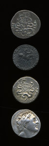 Ancients:Ancient Lots  , Ancients: Lot of four Greek AR tetradrachms.... (Total: 4 coins)