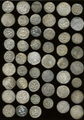 Ancients:Ancient Lots  , Ancients: Lot of sixty-two Sasanian AR drachms.... (Total: 62coins)