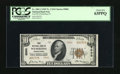 National Bank Notes:Pennsylvania, Wilmerding, PA - $10 1929 Ty. 2 First NB Ch. # 5000. A Choice CrispUncirculated example for type bearing the secon...