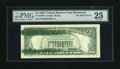 Error Notes:Ink Smears, Fr. 1979-E $5 1988 Federal Reserve Note. PMG Very Fine 25.. Theback has two lateral green ink smears with the longest being...